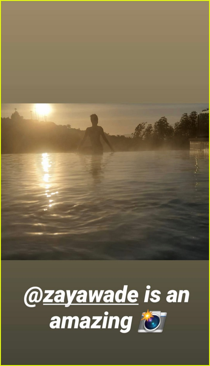 gabrielle union dwyane wade pool photo shoot 044454512