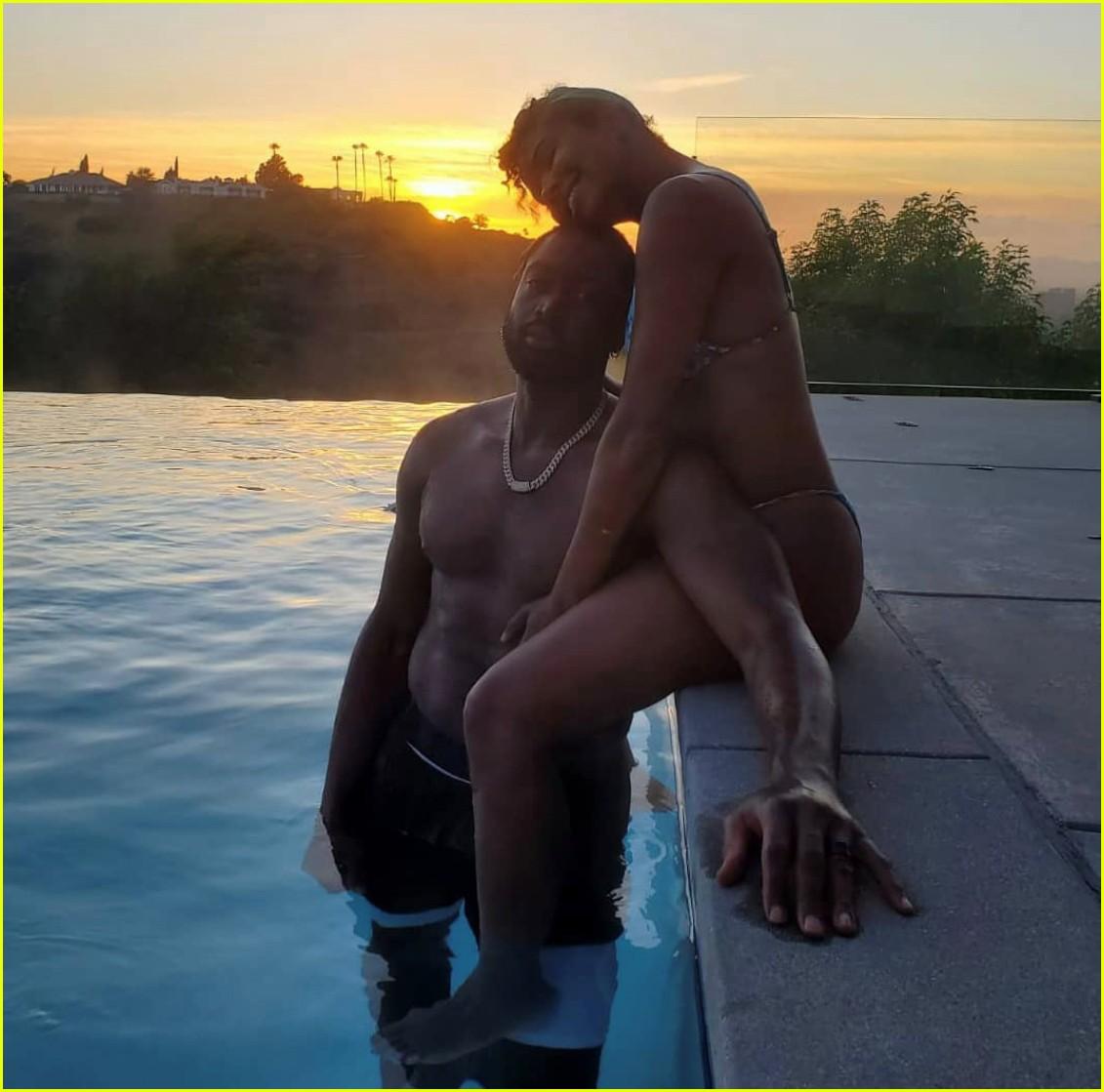 gabrielle union dwyane wade pool photo shoot 054454513
