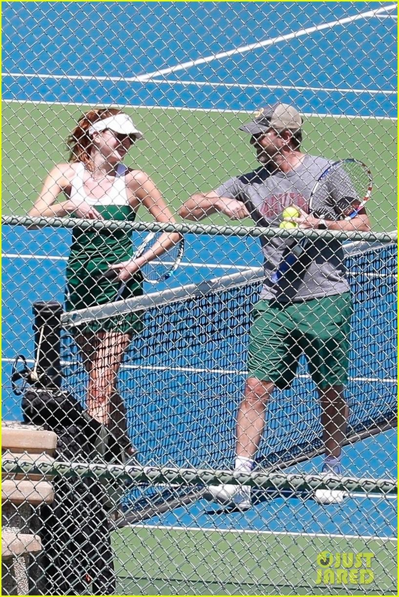 jon hamm tennis with anna osceola 014460272