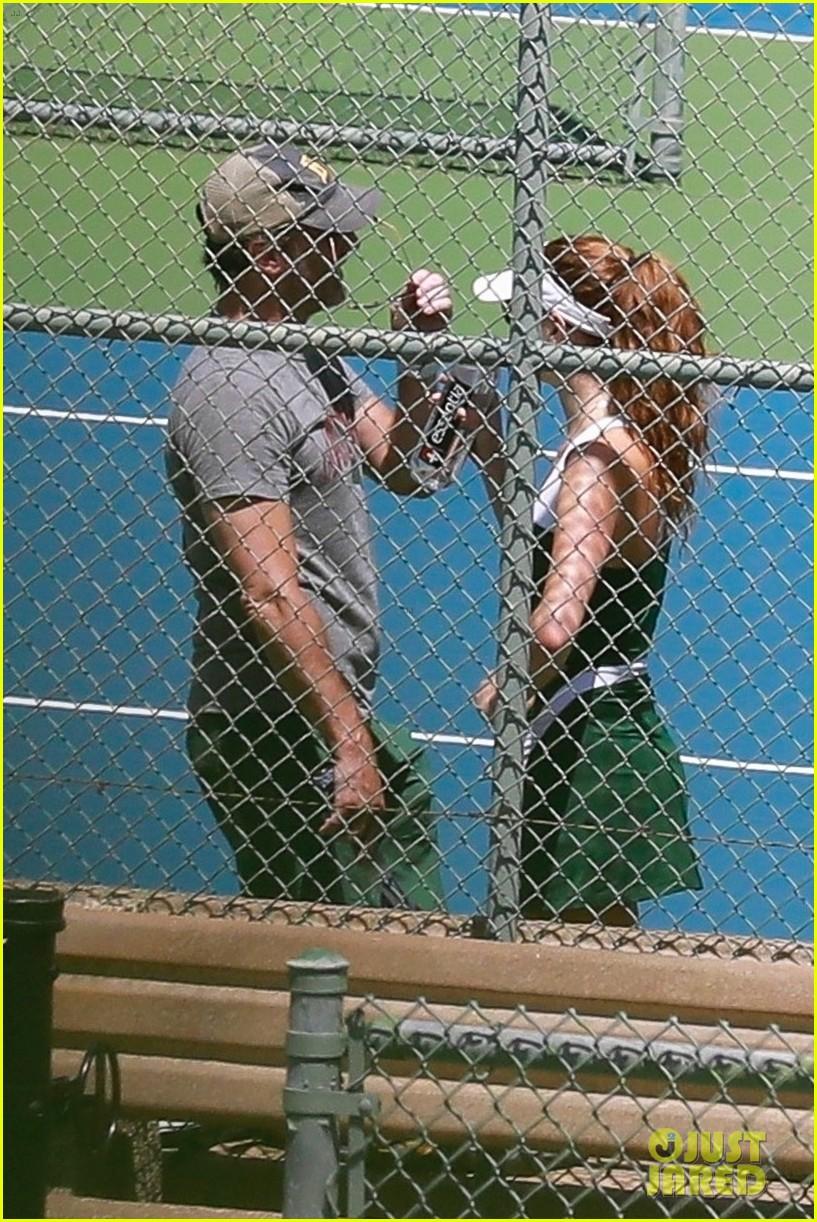 jon hamm tennis with anna osceola 044460275