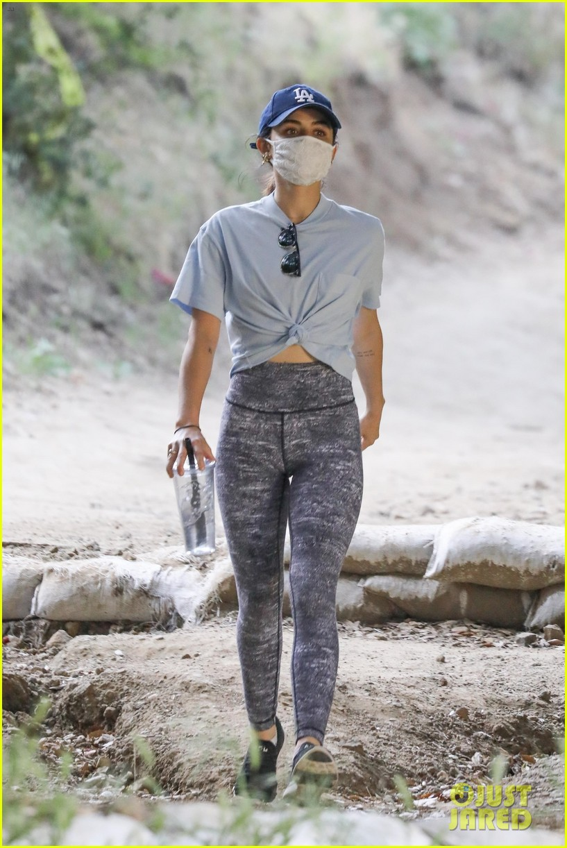 lucy hale almay reveal hike fryman canyon 034458873