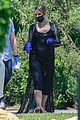 ashlee simpson evan ross wear mask gloves while house hunting 05