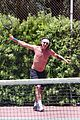 gavin rossdale goes shirtless playing tennis 47