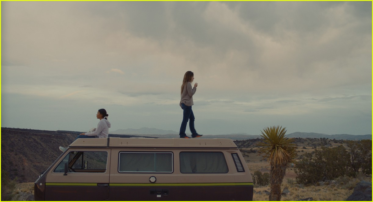 sabrina carpenter stars in the short history of the long road trailer 014459346