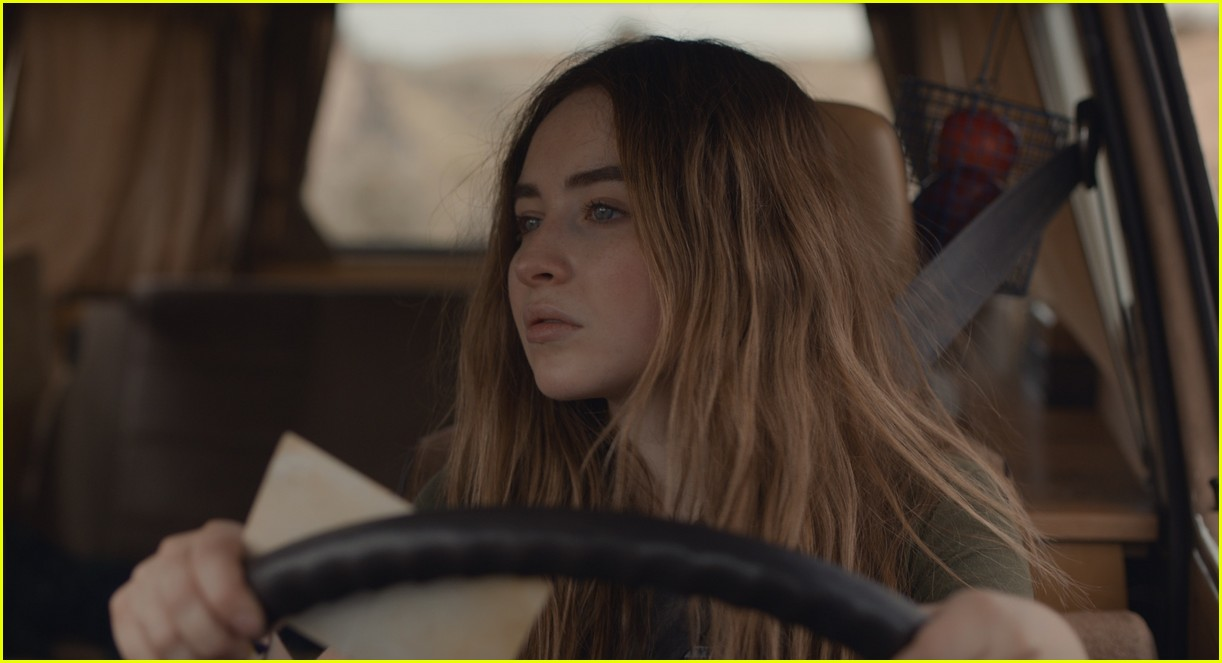 sabrina carpenter stars in the short history of the long road trailer 034459348