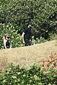 ashley benson g eazy hold hands hiking in the hills 28