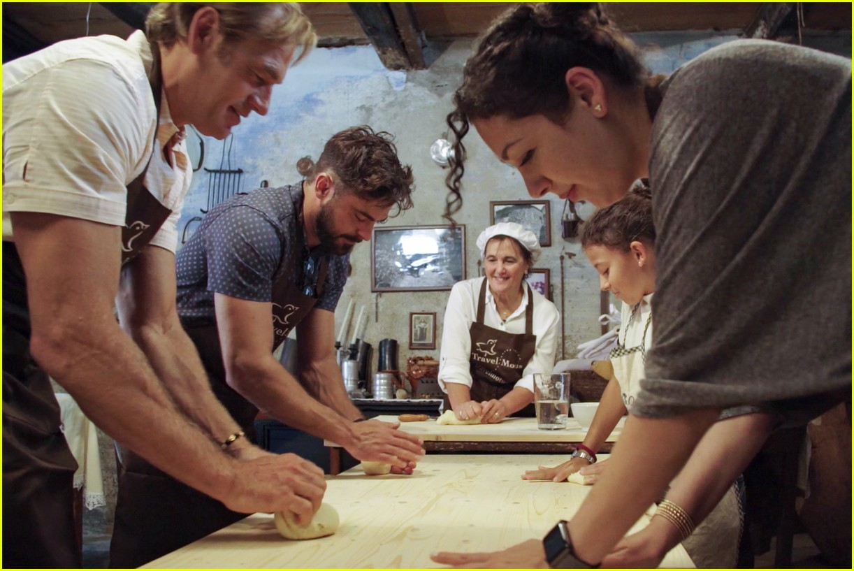 zac efron down with earth travel show 034465526