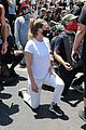 ellen pompeo takes knee during protest la 05