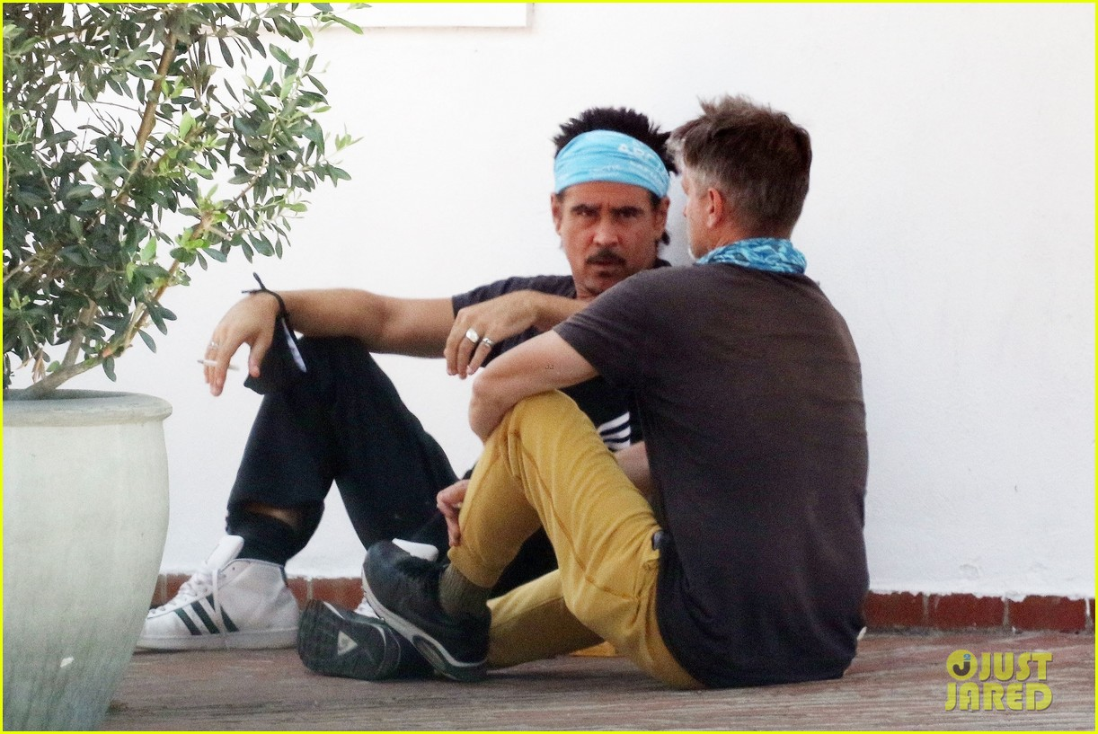 colin farrell shea whigham meet up 334464767