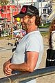 gerard butler rad cap bike ride beach 00