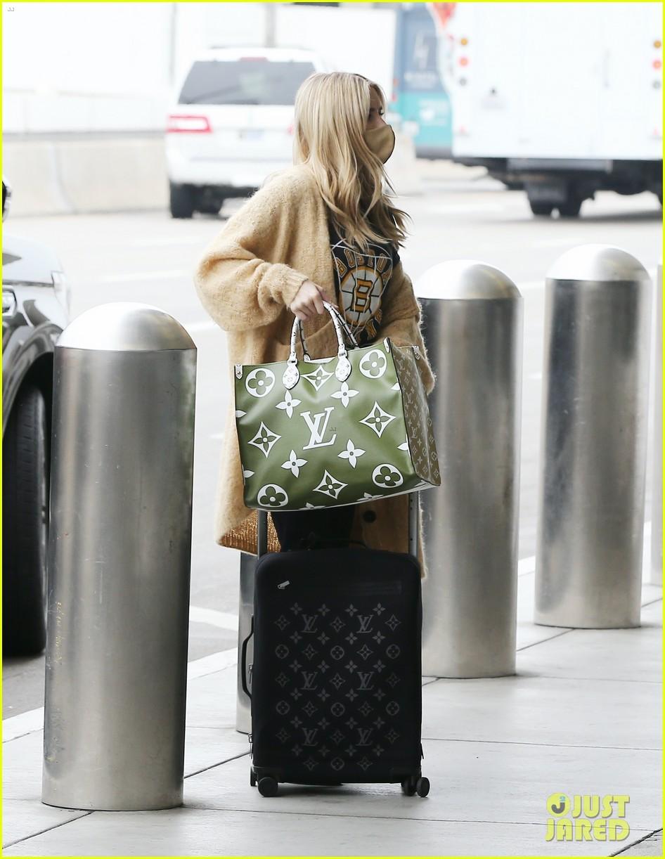 emma roberts garrett hedlund airport after pregnancy news 304465611