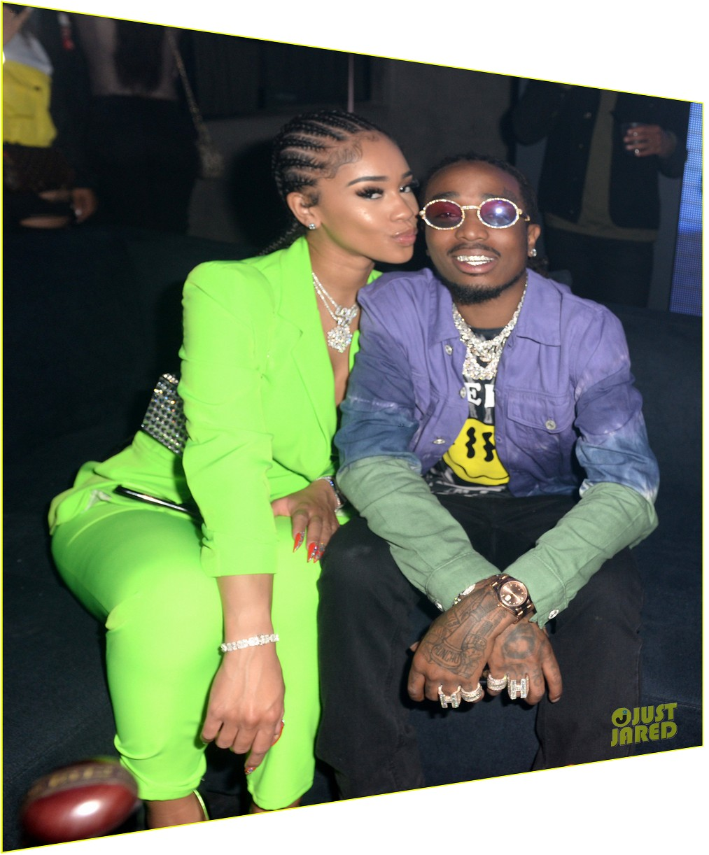 saweetie growing closer to quavo during covid 034462206