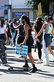 cole sprouse kaia gerber black lives matter protest 41