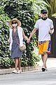 reese witherspoon jim toth hold hands on afternoon walk 01