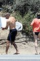 robin wright clement giraudet kisses while surfing 25