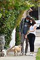 ben affleck snaps photos of ana de armas on dog walk 01