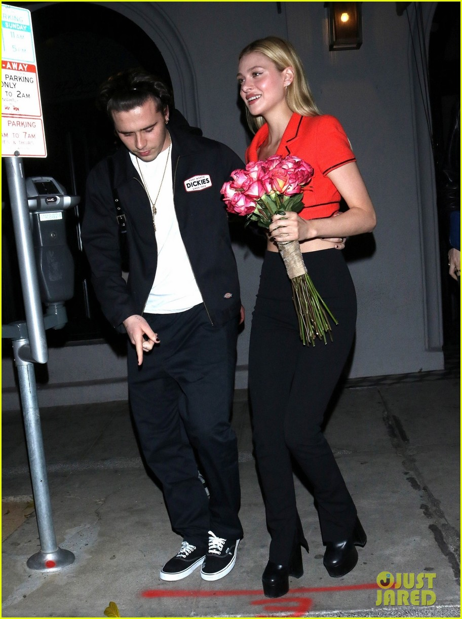 Brooklyn Beckham Is Engaged To Actress Nicola Peltz Photo 4468575 Brooklyn Beckham Nicola Peltz Pictures Just Jared