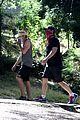 dax shepard reunites with parenthood peter krause afternoon hike 07
