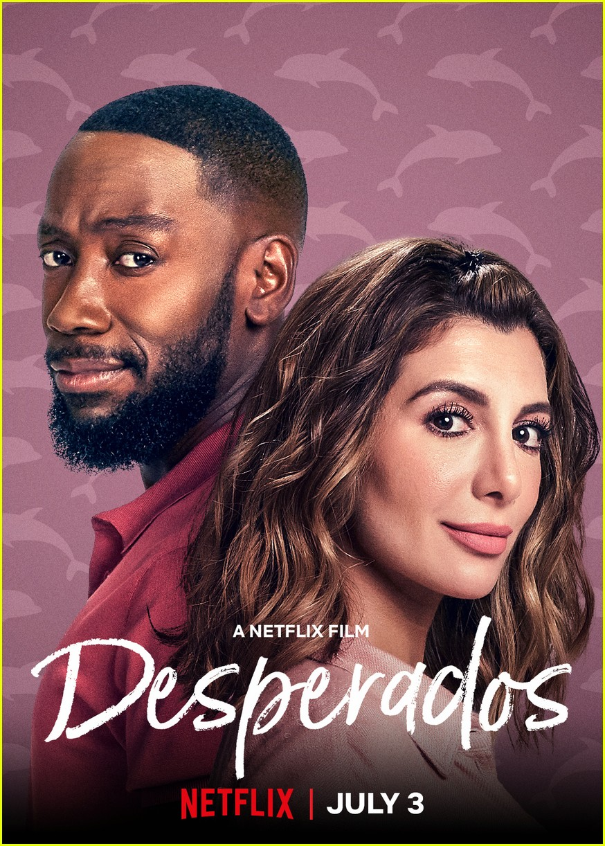 The Stars Of Netflix S Desperados Have Played A Couple Before Photo 4467678 Lamorne Morris Nasim Pedrad Netflix Pictures Just Jared