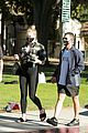 pregnant sophie turner at park with joe jonas family 67