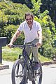 gerard butler goes for a bike ride 01