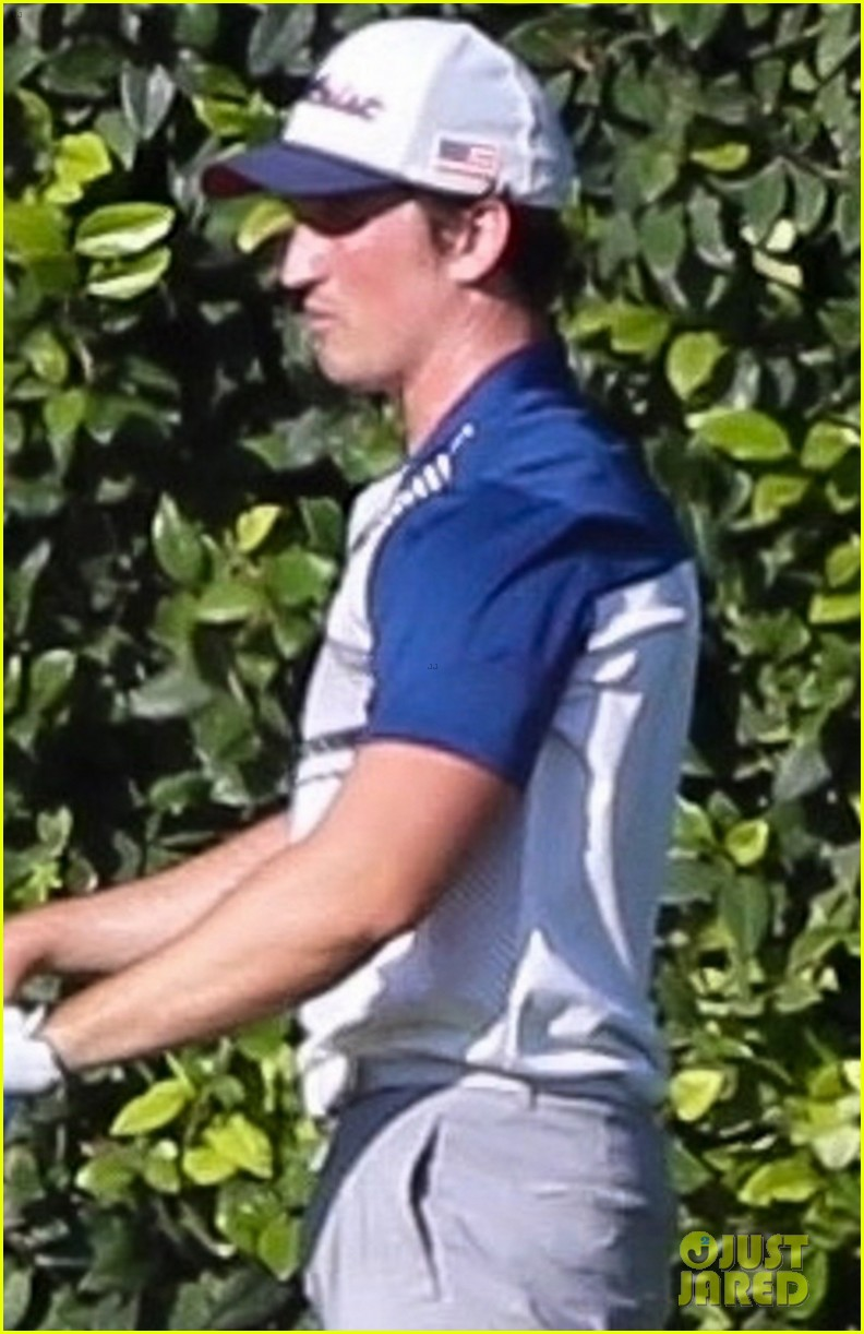 chace crawford miles teller play golf together 044477369