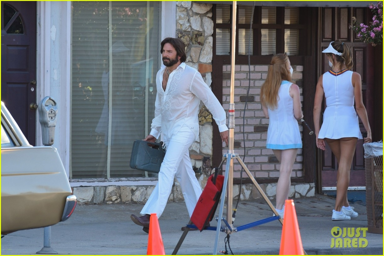 bradley cooper straight out of 70s set of new movie 064478916