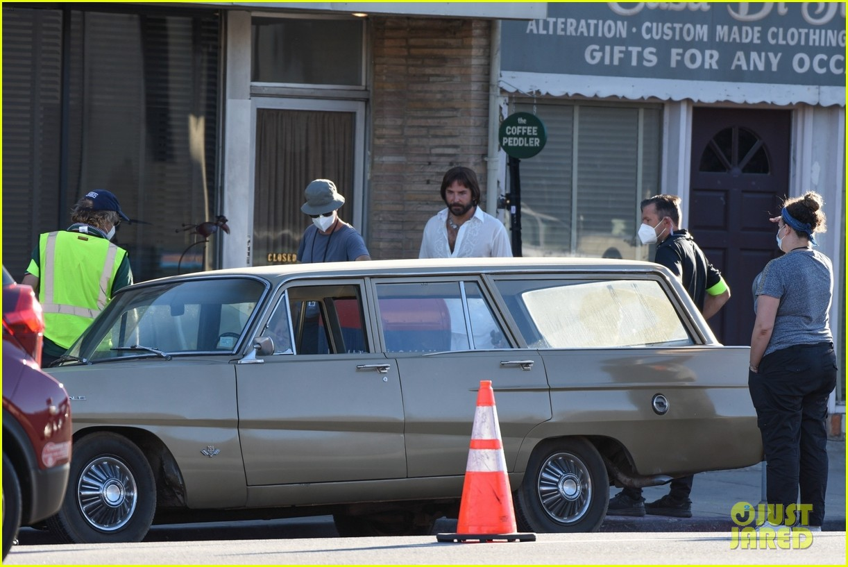 bradley cooper straight out of 70s set of new movie 164478926