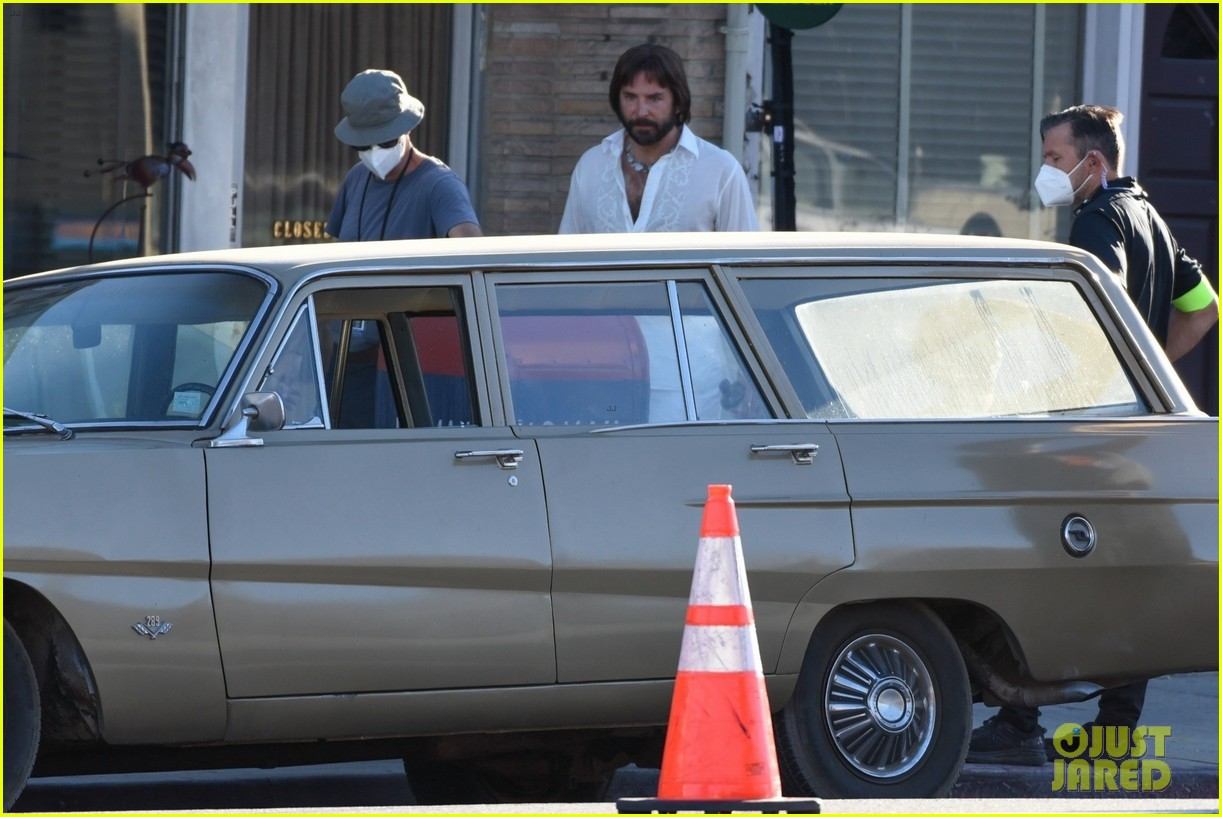 bradley cooper straight out of 70s set of new movie 184478928