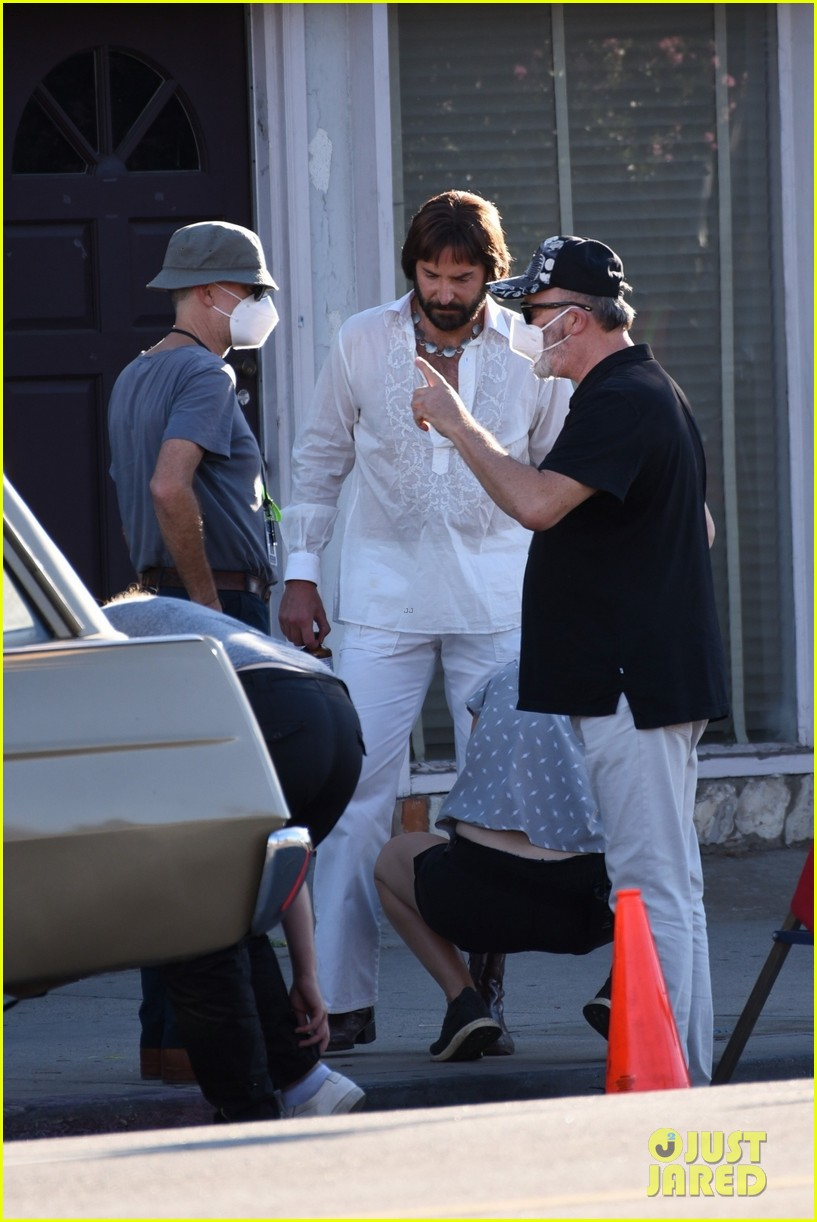 bradley cooper straight out of 70s set of new movie 264478936