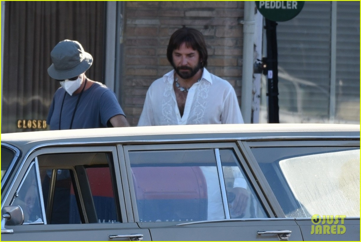 bradley cooper straight out of 70s set of new movie 294478939