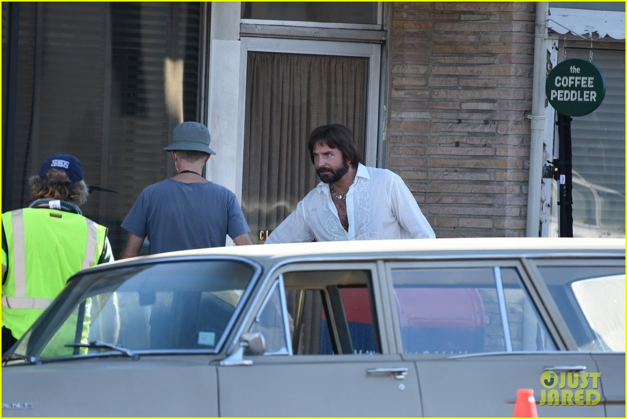 bradley cooper straight out of 70s set of new movie 304478940