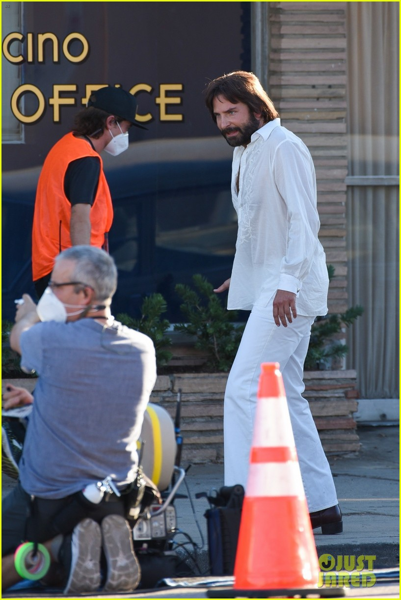 bradley cooper straight out of 70s set of new movie 464478956