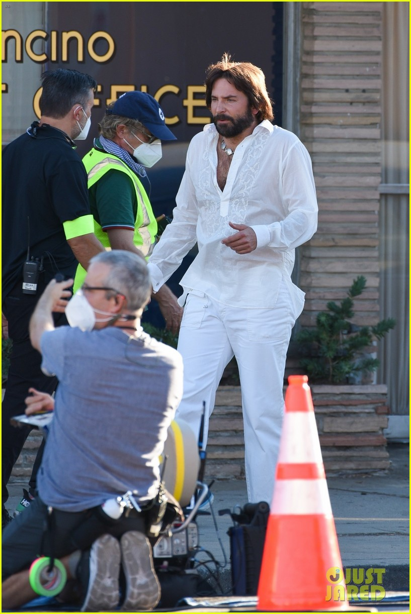 bradley cooper straight out of 70s set of new movie 494478959