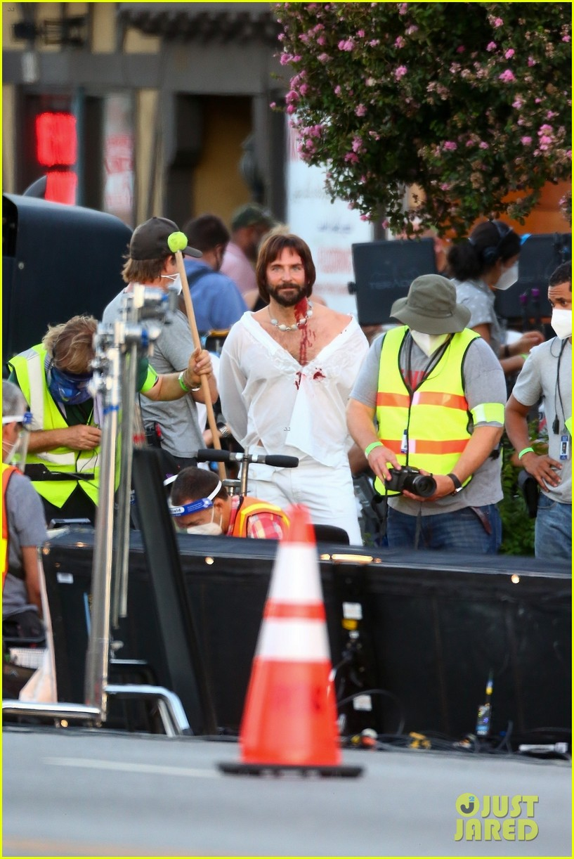 bradley cooper bloody on set photos 184479112