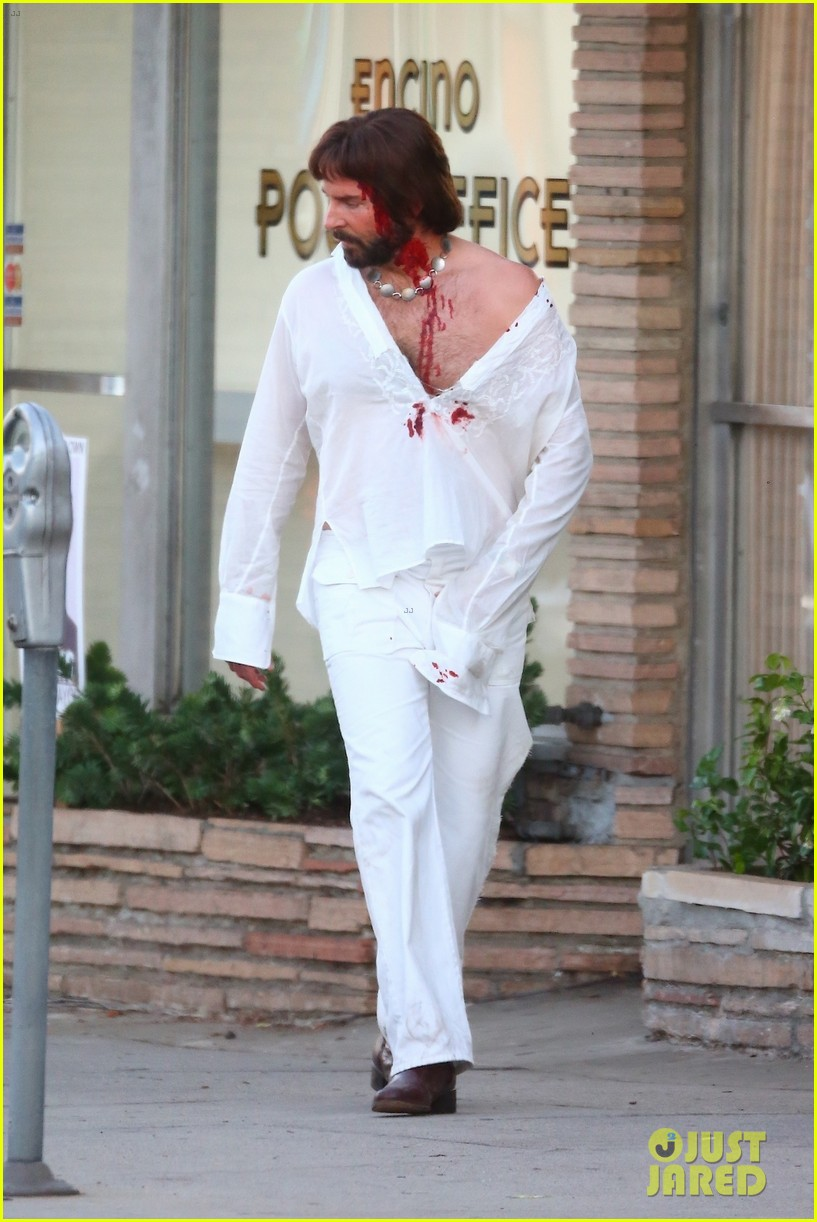 bradley cooper bloody on set photos 254479119