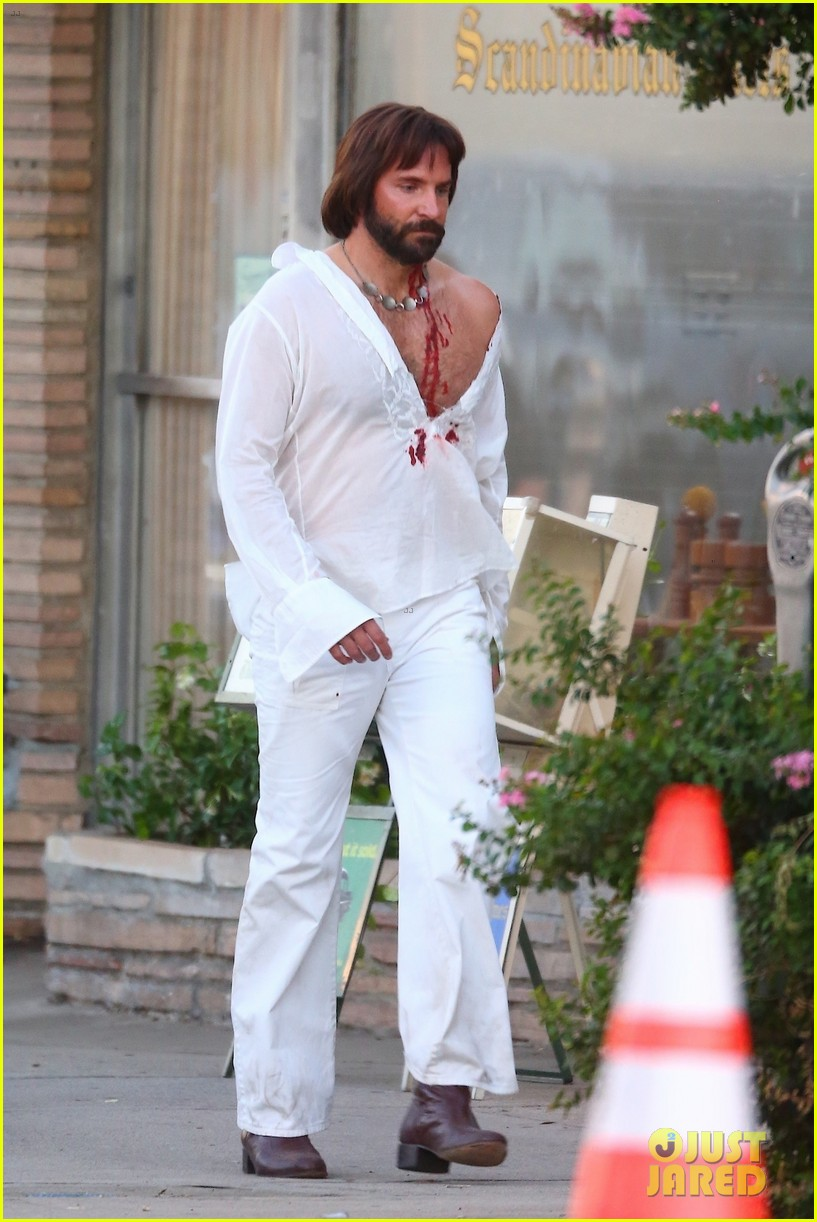 bradley cooper bloody on set photos 274479121