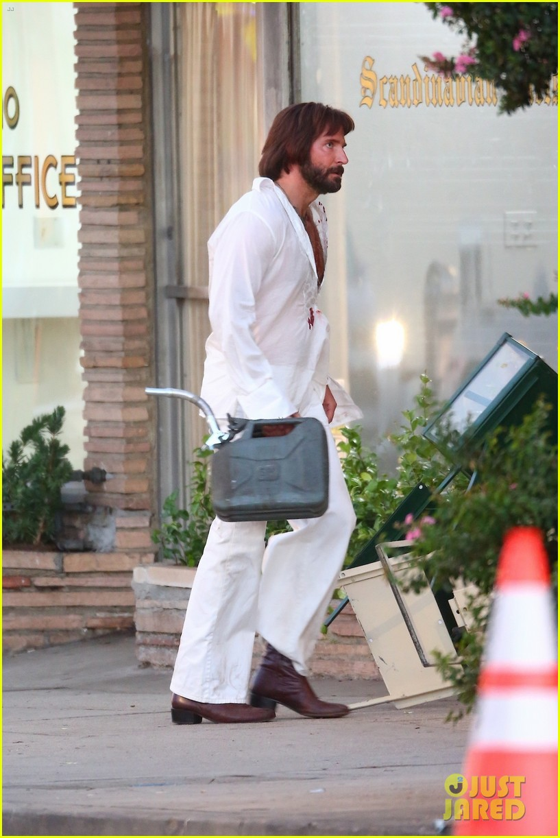 bradley cooper bloody on set photos 384479132