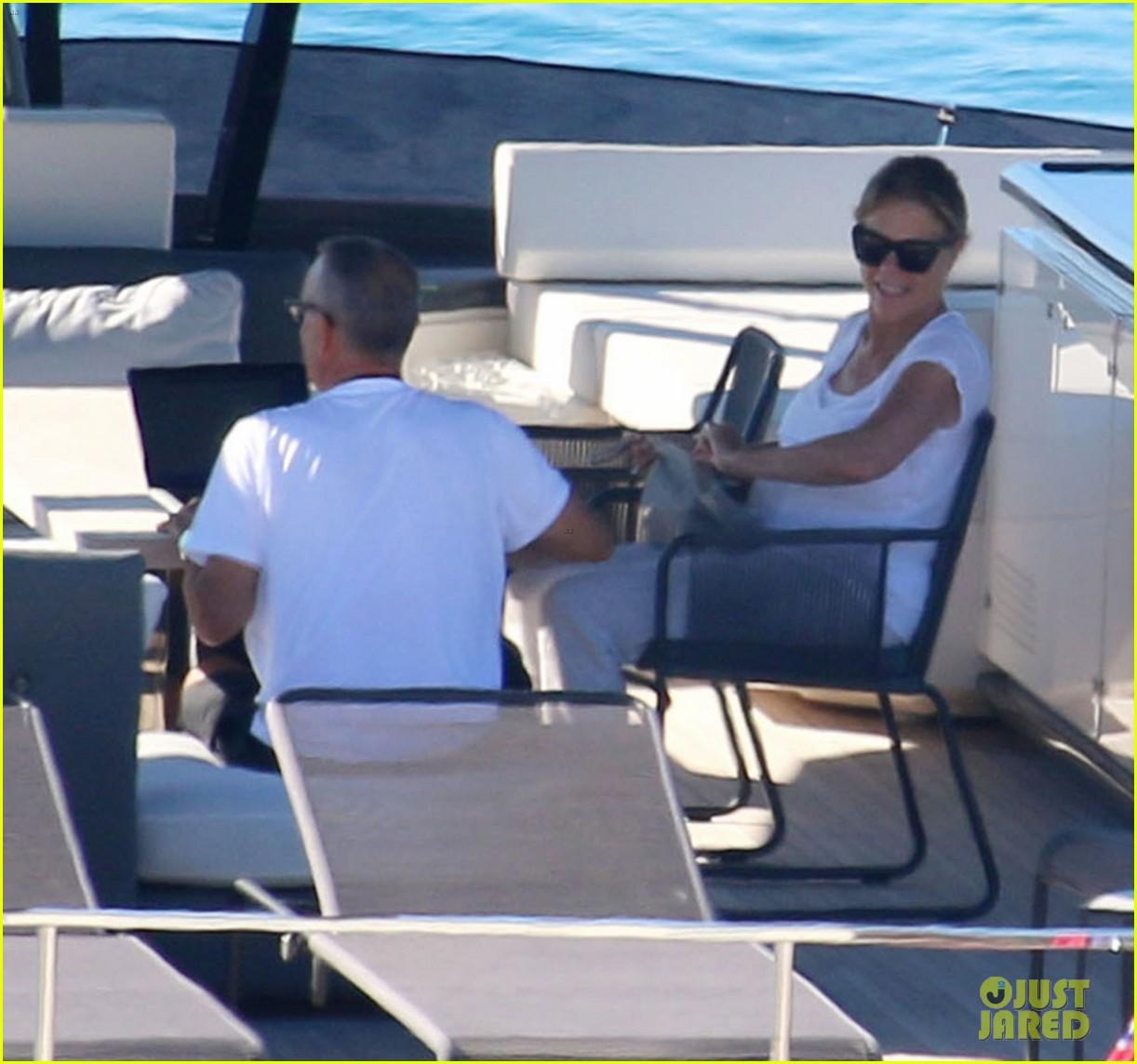 tom hanks rita wilson on a yacht in greece 054473033