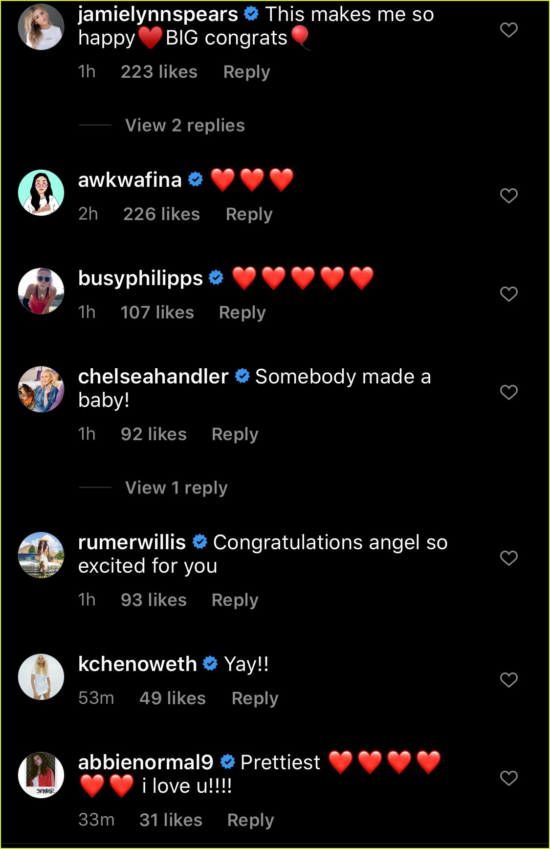 celebs congratulate emma roberts garrett hedlund baby announcement 024479488