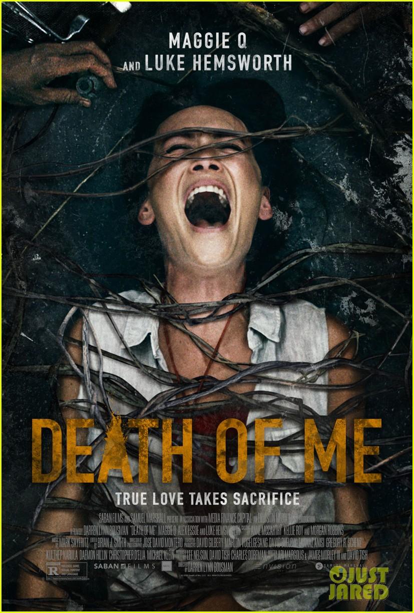 luke hemsworth maggie q death of me trailer poster 014476014