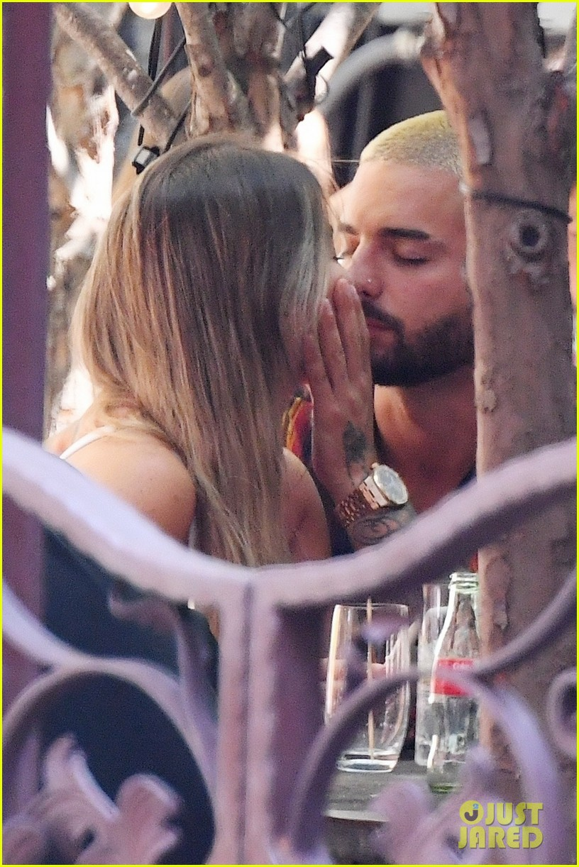 maluma packs on the pda with mystery woman in nyc 184474459