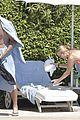 caroline wozniacki at the pool with david lee 17