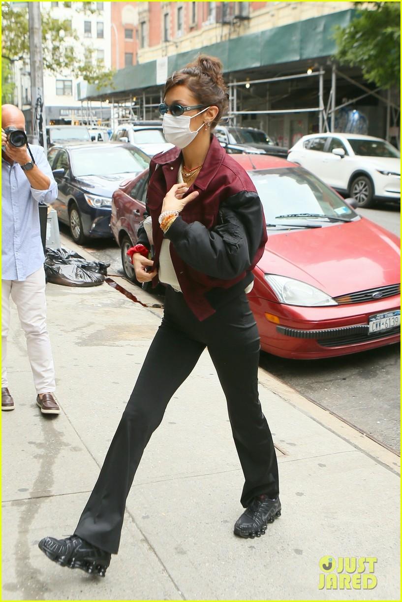 bella hadid dua lipa step out in new york 014487602