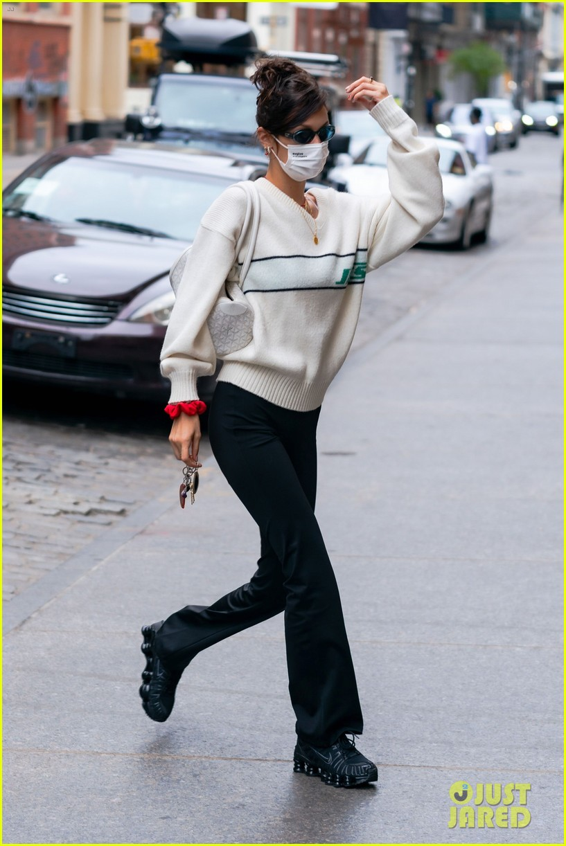 bella hadid dua lipa step out in new york 074487608