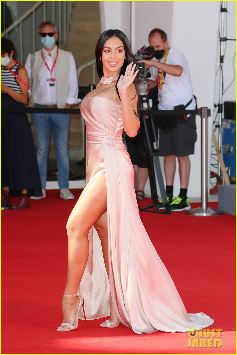 georgina rodriguez lots of leg venice film festival 184480041