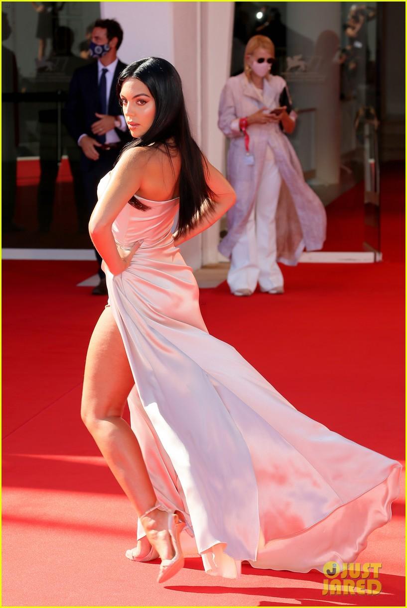 georgina rodriguez lots of leg venice film festival 274480050