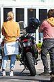 diane kruger norman reedus motorcycle ride while shopping 03