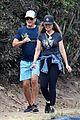 rob lowe maria shriver go for a walk 17