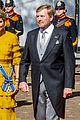 queen maxima gloves dress match prince day netherlands 05